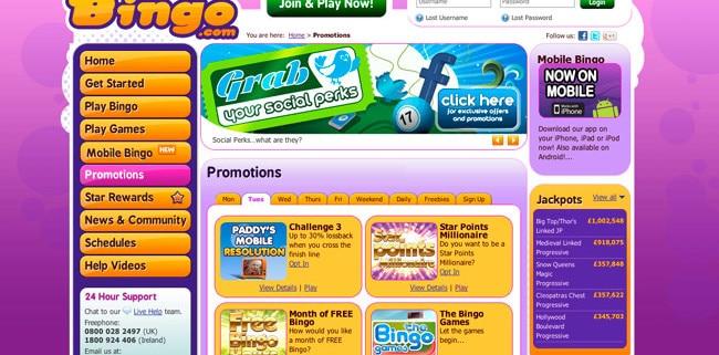 Paddy Power Bingo Promotions